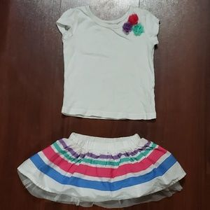 The Childrens Place Skirt Set